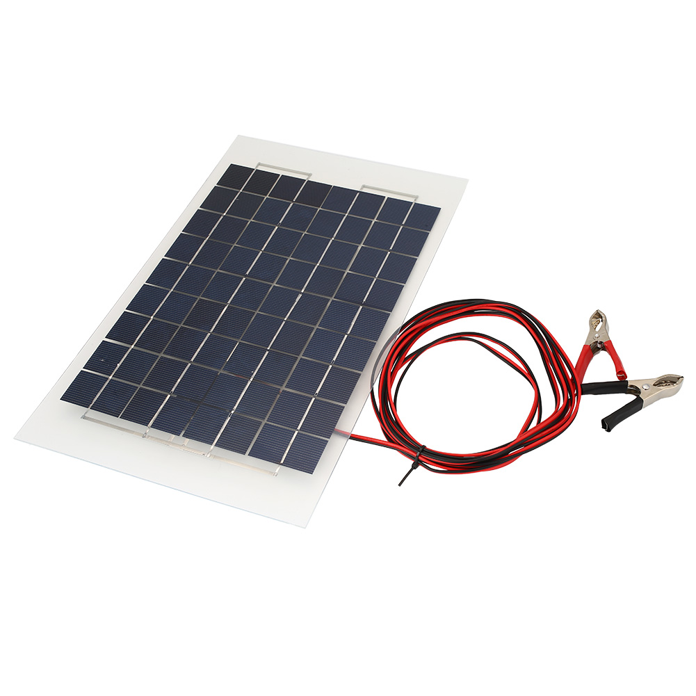 30w 20w 10w 5w 18v car boat camping cell solar power panel for Panel solar pequeno