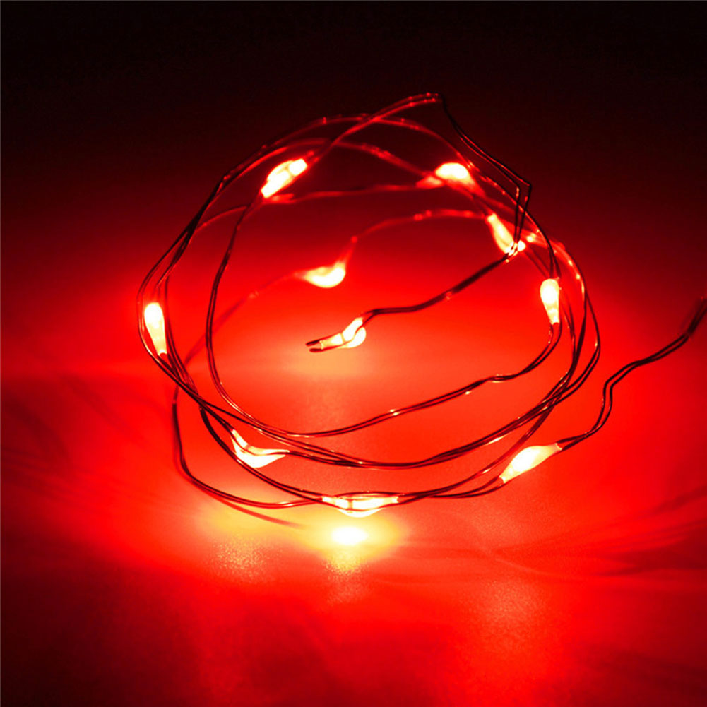 M led copper wire string strip fairy lights for holiday