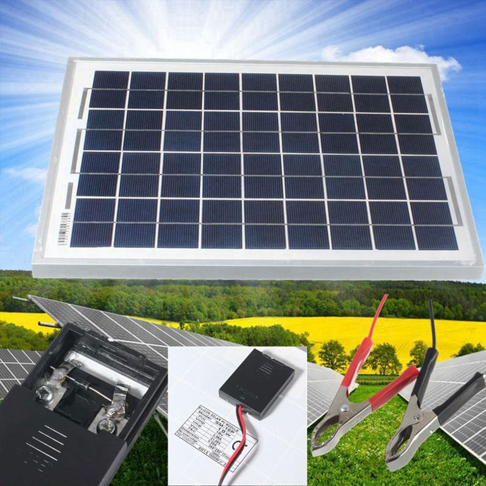 50w 20w 10w 8w 4 5w 12v car camping cell solar panel. Black Bedroom Furniture Sets. Home Design Ideas