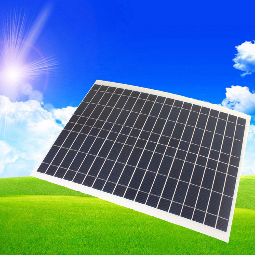 50W 20W 10W 8W 4.5W 12V Car Camping Cell Solar Panel