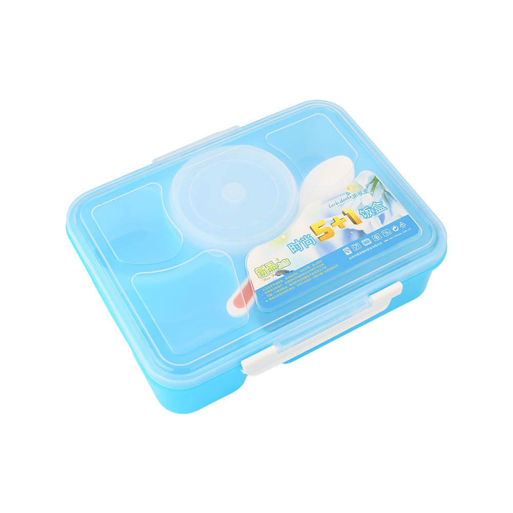 microwave bento lunch box spoon utensils food container. Black Bedroom Furniture Sets. Home Design Ideas
