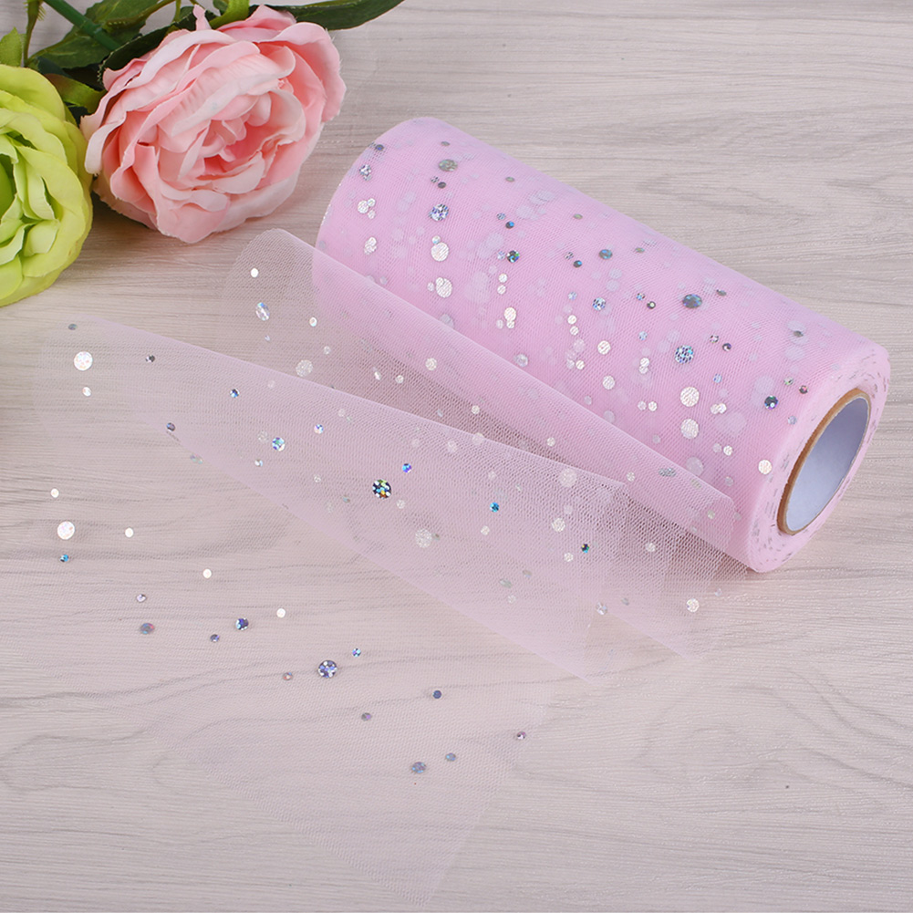 304F-22-8m-Tulle-Roll-Wedding-Carft-Wedding-Party-Festival-Decoration-Supplies