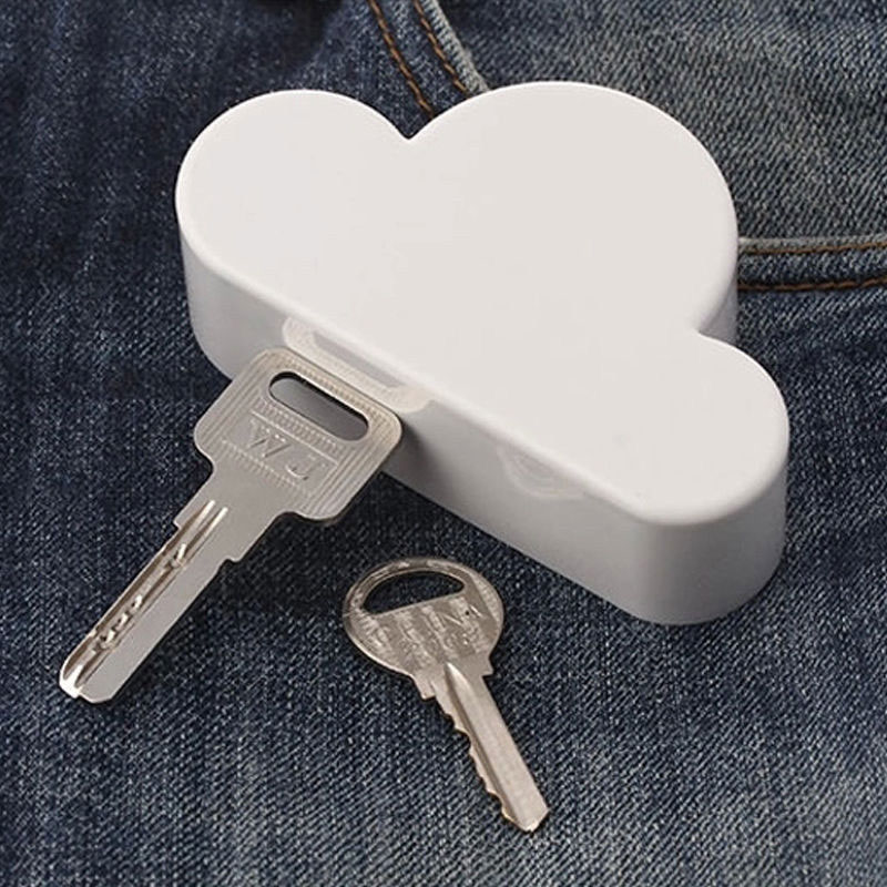 Practical Cloud Shaped Key Holder Magnetic Home Wall