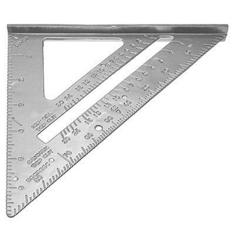 Professional 7 Square Protractor Carpenter Measuring Tool Measurement 2 73 Picclick