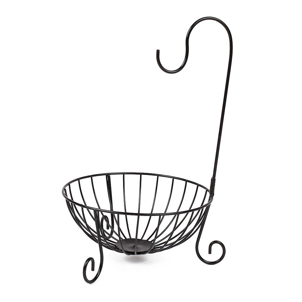 Kitchen Tableware Metal Fruit Basket Detachable Banana