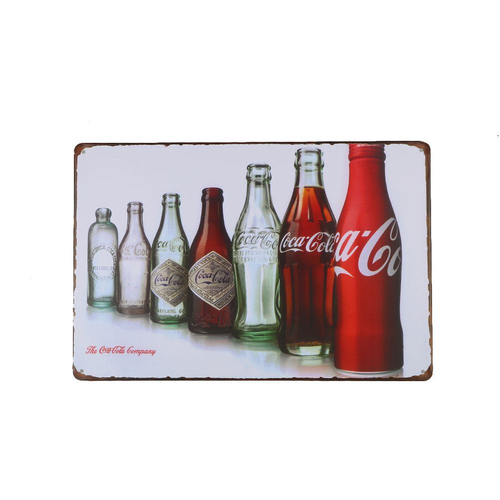 retro vintage coca cola livingroom home bar poster metal paintings craft ebay. Black Bedroom Furniture Sets. Home Design Ideas