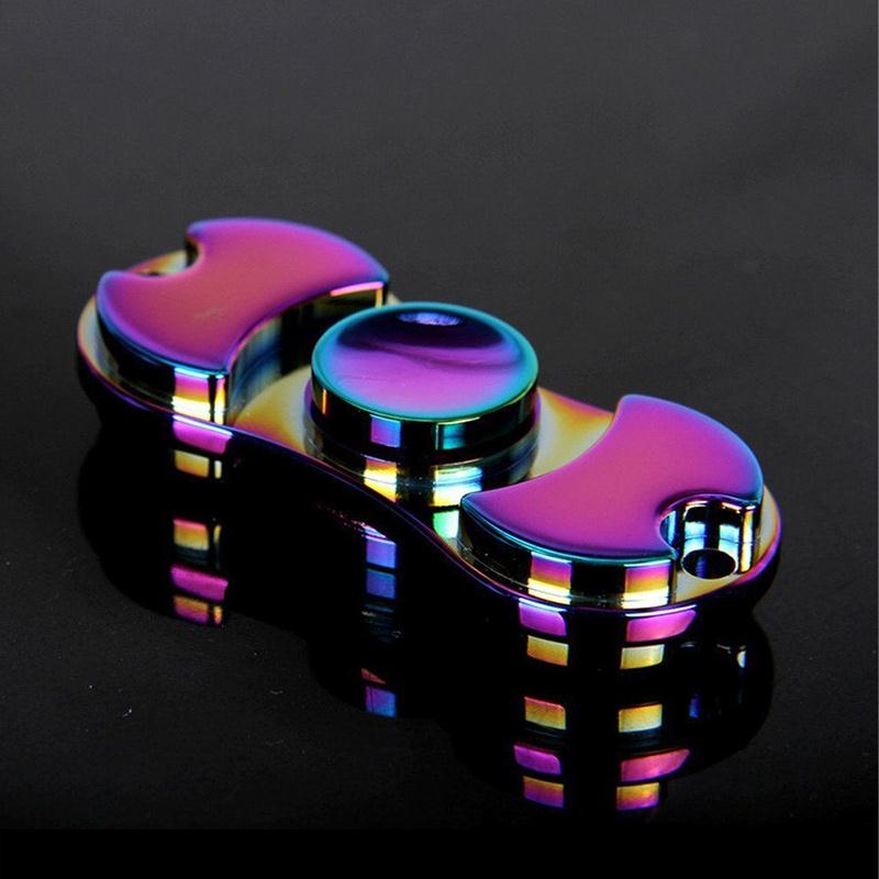 Cool Fidget Toys : Custom cool hand fidget finger gyro spinner edc bearing