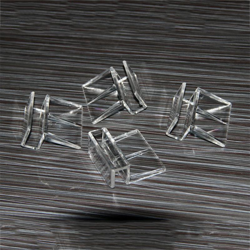 B6B2-Aquarium-Tank-Glass-Cover-Transparent-Acrylic-Clips-Clamp-Support-Holder