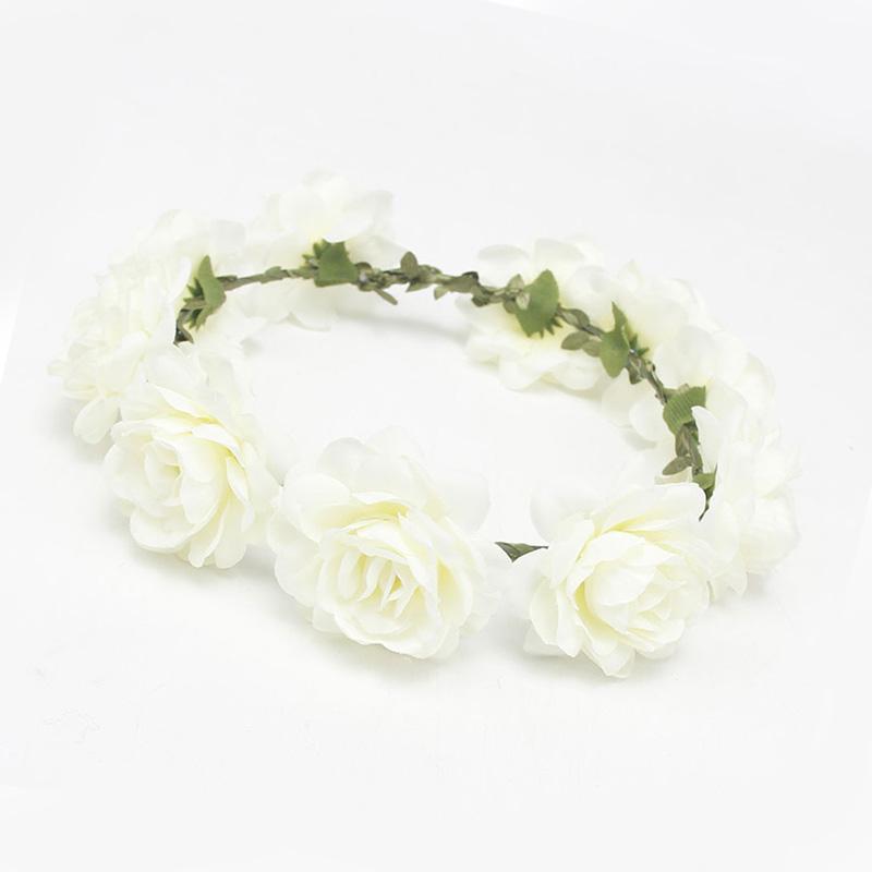 C7CF-Bridal-Wedding-Wreath-Head-Flowers-Flower-Corsage-Headwear-Hair-Access