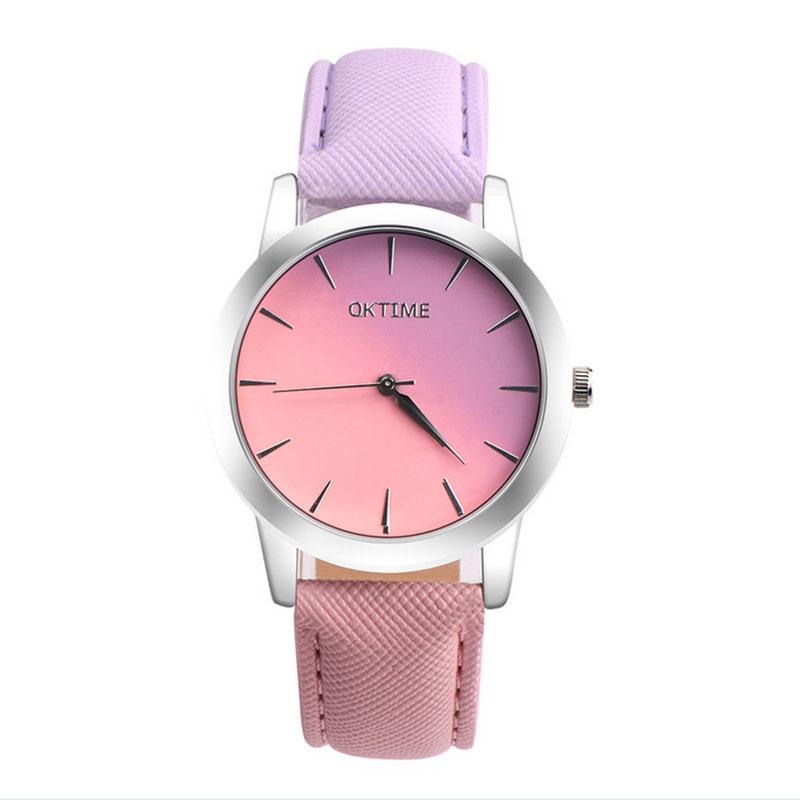 6472-Cute-Women-PU-Leather-Strap-Candy-Contrast-Color-Quartz-Watch-Wristwatch