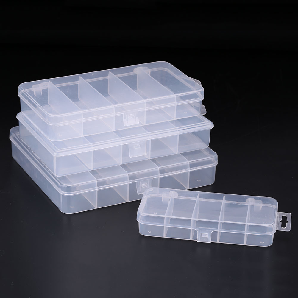 EBAF-Fishing-Lure-Bait-Tackle-Box-5-Compartment-Fish-Storage-Case-Container