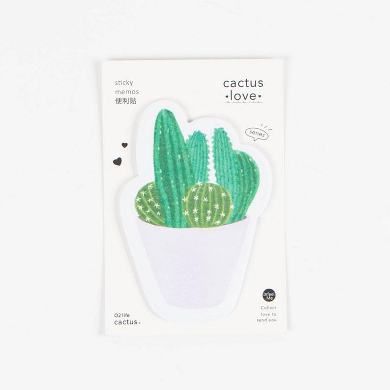 CBA7-Cactus-Love-Model-Shape-Type-kawaii-Stationery-Memo-Paper-Sticky-Notes