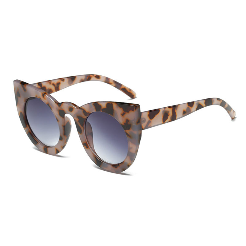 2AFC-New-Women-039-s-Rockabilly-Vintage-Cat-eye-Round-Lens-Retro-50-039-s-Sunglasses