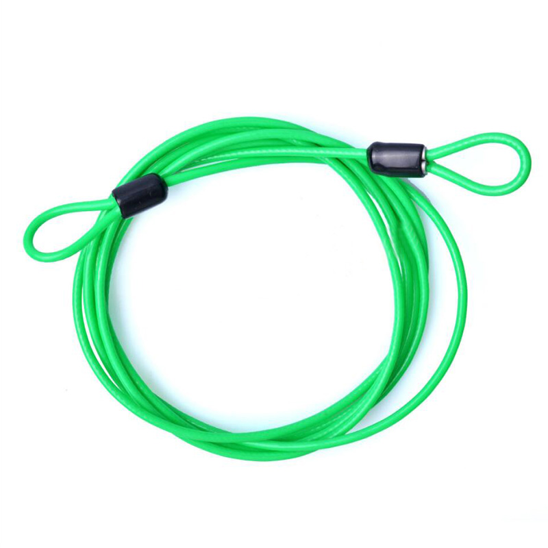 9549-2017-200CM-x-2-5MM-Cycling-Sport-Security-Loop-Cable-Lock-Resettable-Bike