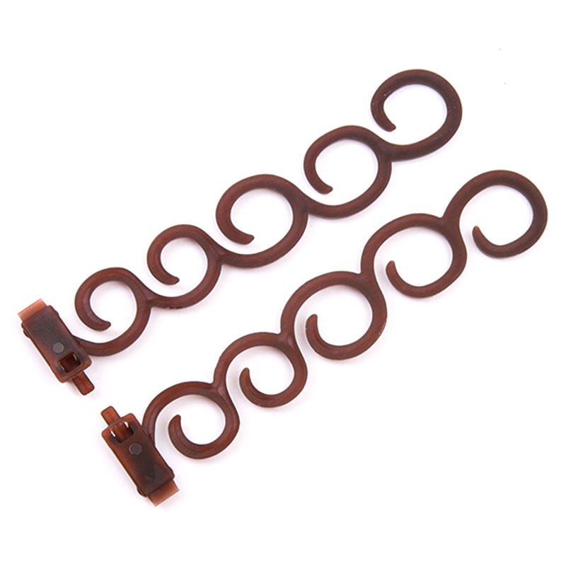 A635-2pcs-Hairpins-Hairwraps-Tool-Hair-Twist-Women-Barrette-Elastic-Hair-Clips