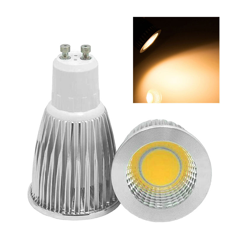 85DB-Dimmable-6W-GU10-E27-200V-COB-Bulbs-LED-Spotlight-Soft-Spot-Down-Lights