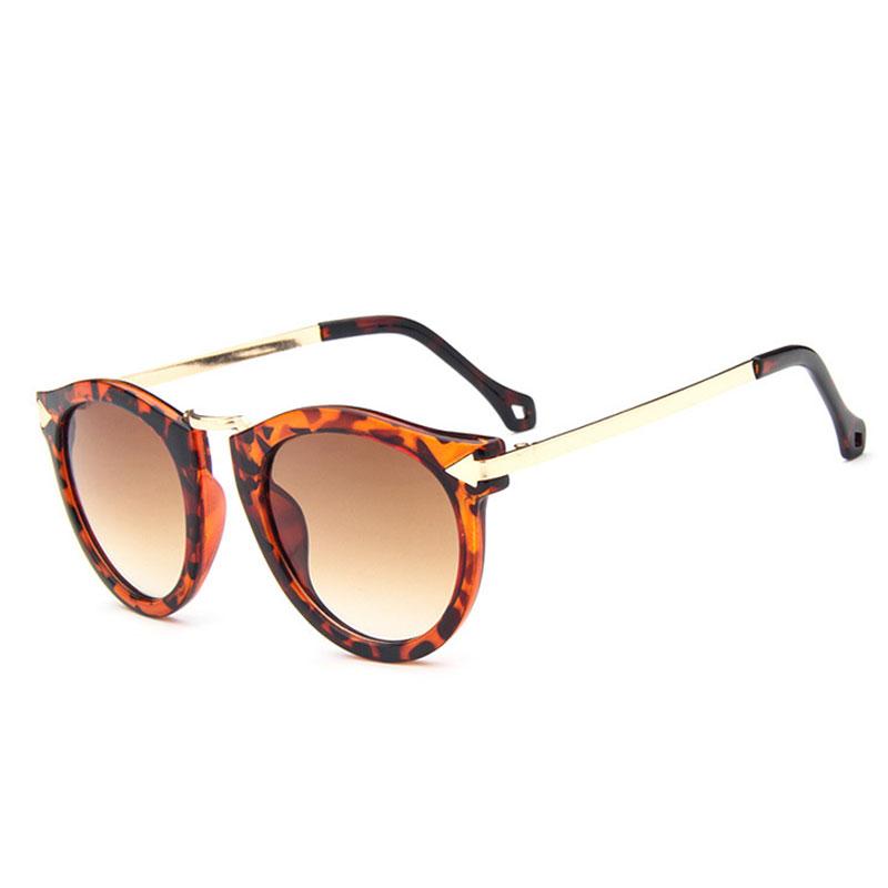 14F9-Women-Glasses-Casual-Colorful-Round-Retro-Classic-UV-Blocking-Sunglasses