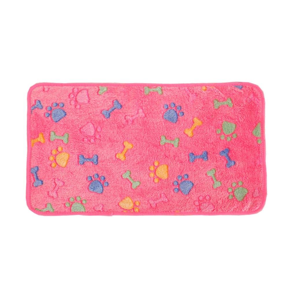DC92-Pet-Cat-Dog-Bone-Paw-Pattern-Rug-Blanket-Warm-Mats-Sleeping-Bed-Supplies