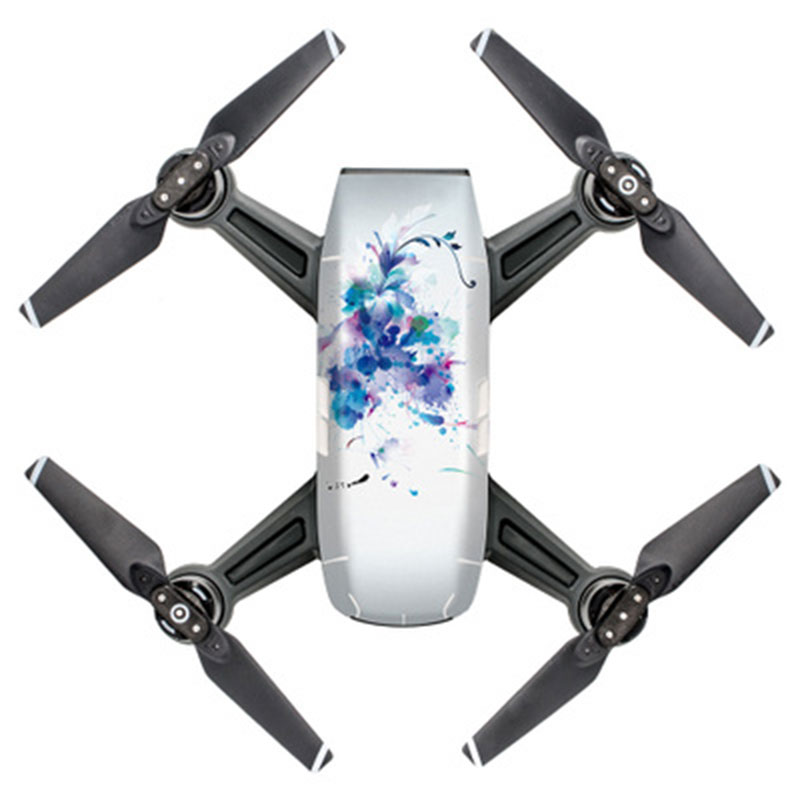 AB0B-Decals-Wrap-Stickers-Body-Protector-Adhesive-for-DJI-PGY-SPARK-Drone-UAV