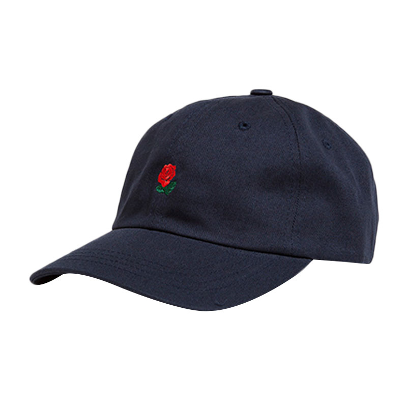 29C0-Fashion-The-Hundreds-Dad-Hat-Flower-Rose-Embroidered-Baseball-Cap-Hats