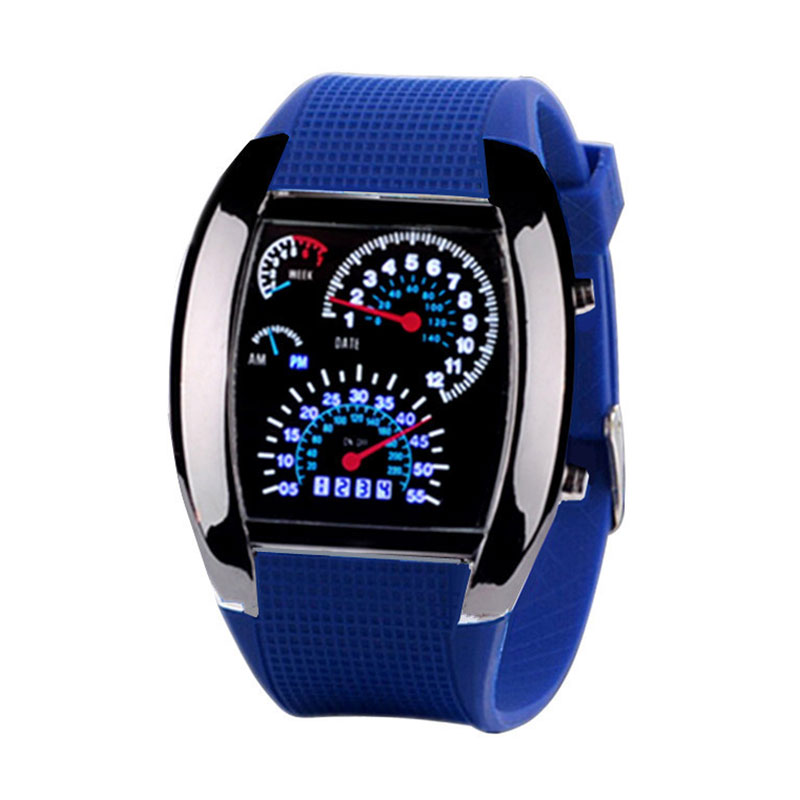 D61C-Digital-LED-Light-Electronic-Waterproof-Sports-Watch-Men-Women-Kids-School