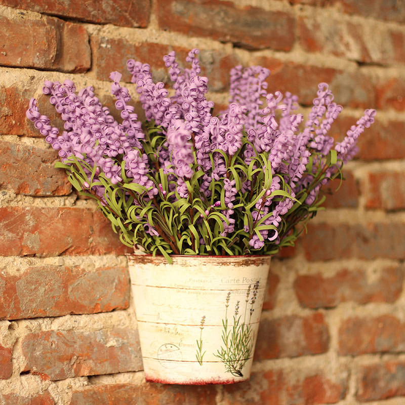 4071-Bouquet-Artificial-Silk-Fake-Lavender-Flowers-For-Wedding-Home-Party-Decor