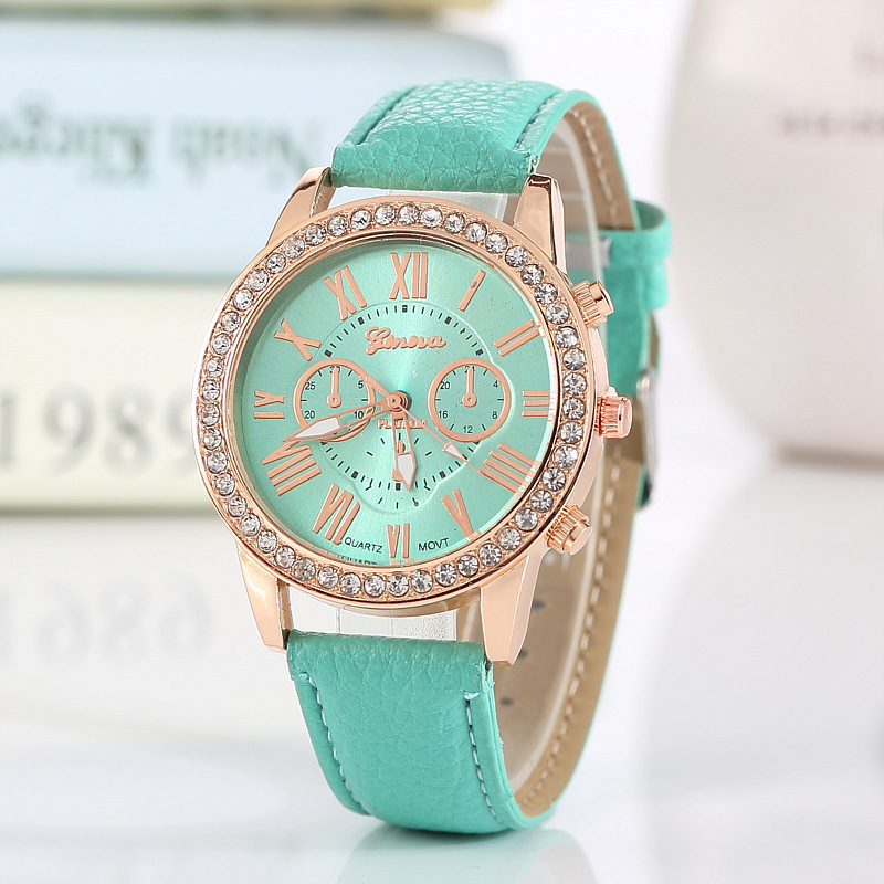 A5FF-Geneva-Quartz-Watch-Wristwatch-Metal-PU-Leather-Belt-Casual-For-Men-Women