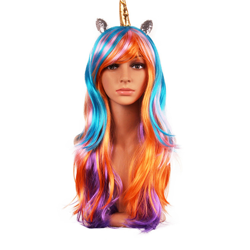 C8D0-Fashiein-Halloween-Long-Curly-Rainbow-Unicorn-Lolita-Race-Wig-colorful