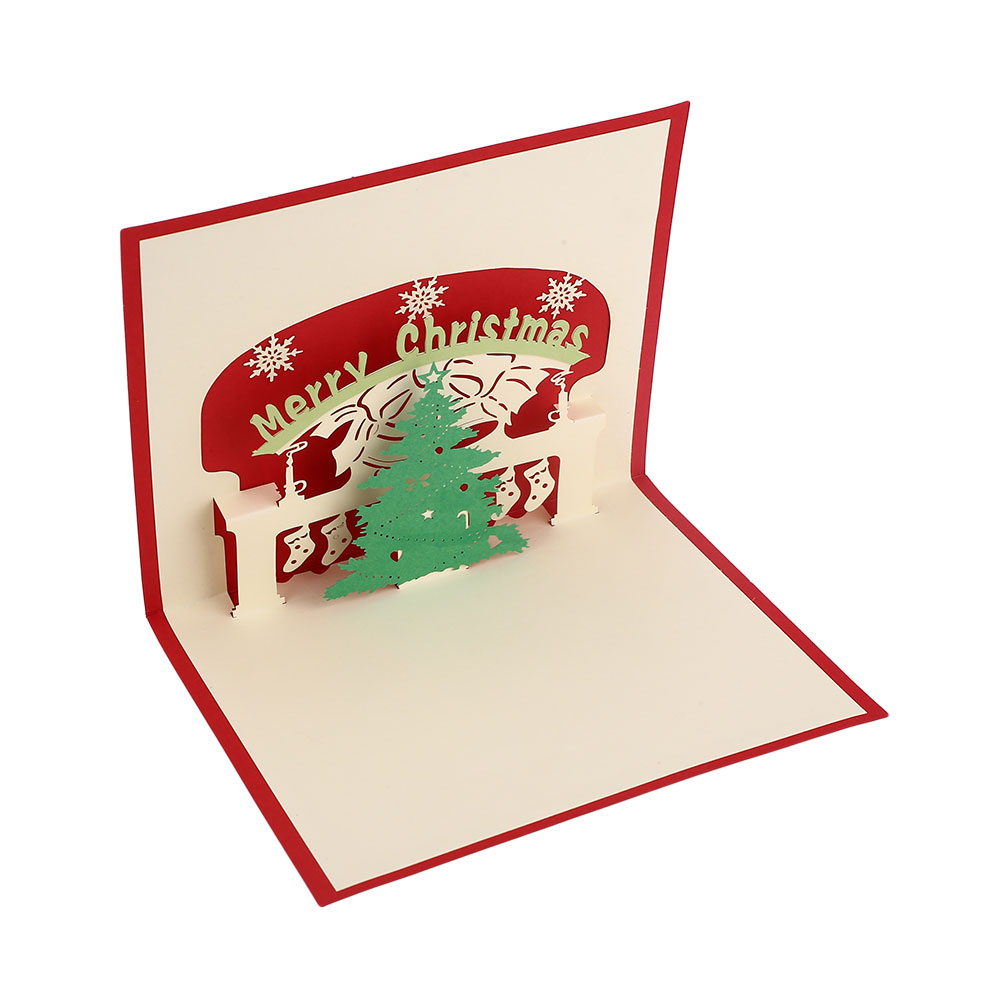 AEC8-3D-Pop-Up-Hollow-Cards-Lover-Valentine-039-s-Day-Christmas-Xmas-Greeting-Cards