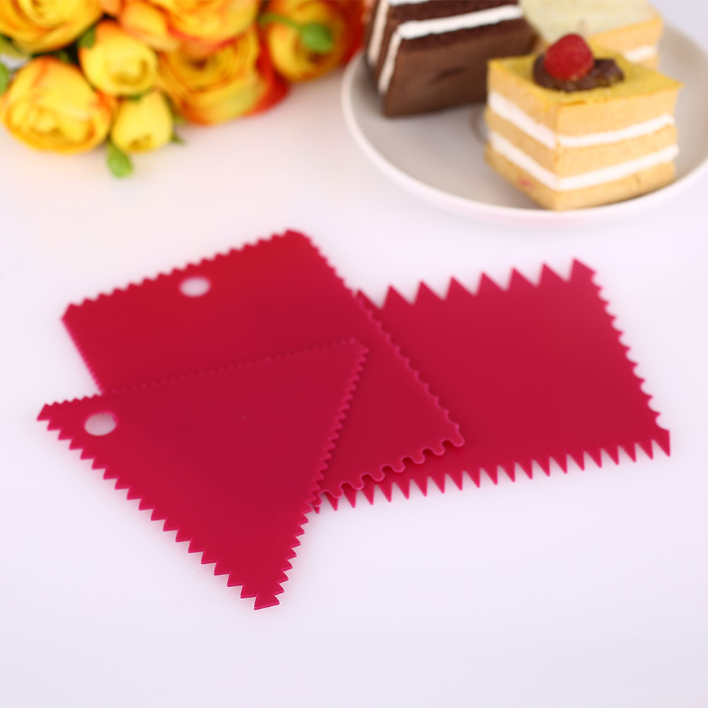 F923-3pcs-Cake-Side-Plastic-Scraper-Cutter-Butter-Icing-Baking-Smoother-Tools