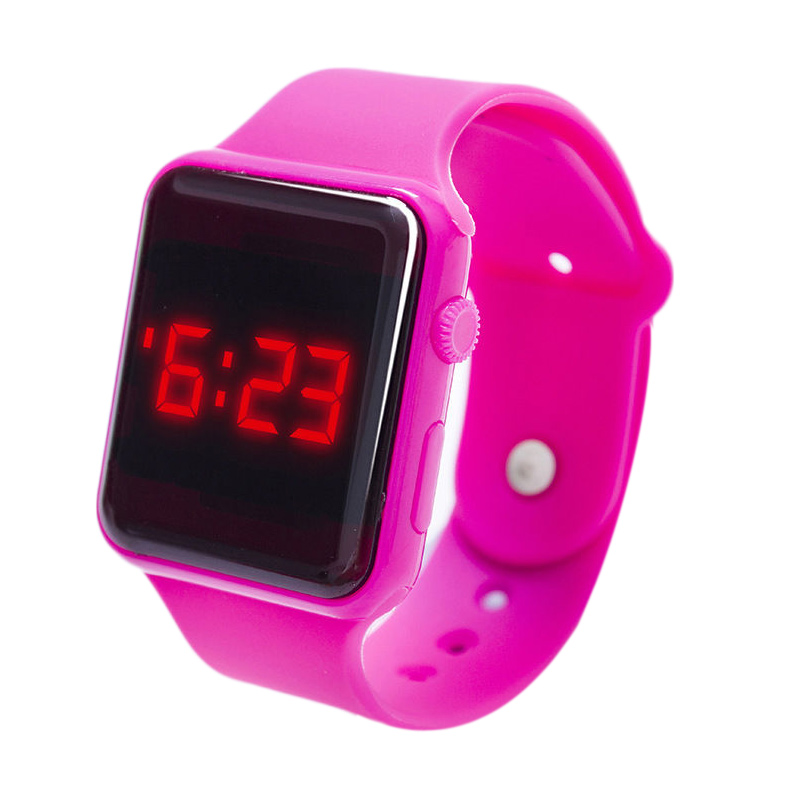 8671-Electronic-LED-Silicone-Watch-Bracelet-Touch-Screen-For-Children-Girls