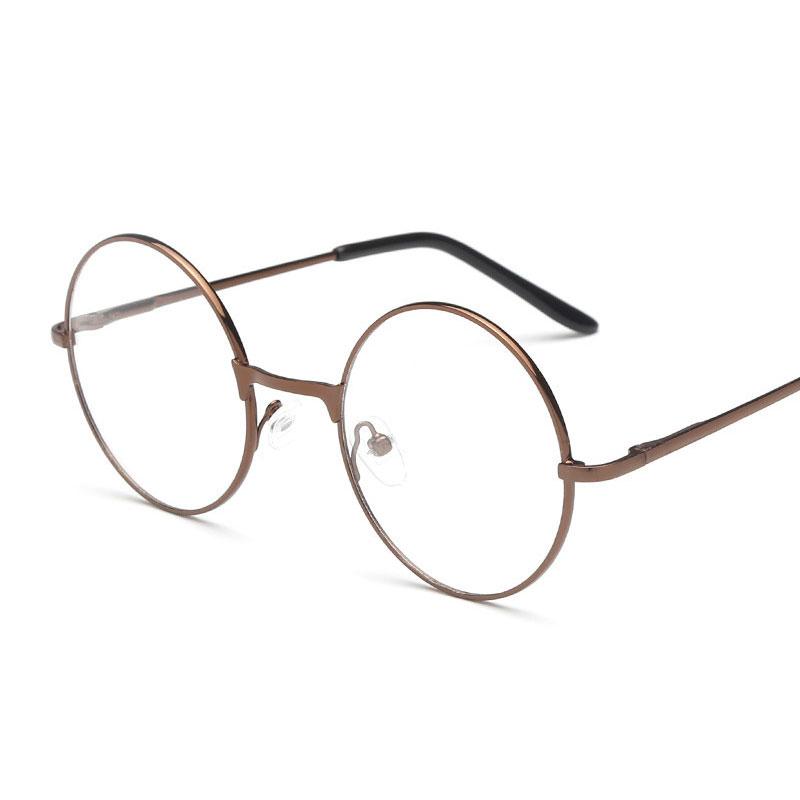 2853-Women-Large-Oversized-Metal-Frame-Round-Eye-Glasses-Nerd-Fashion-Eyewear