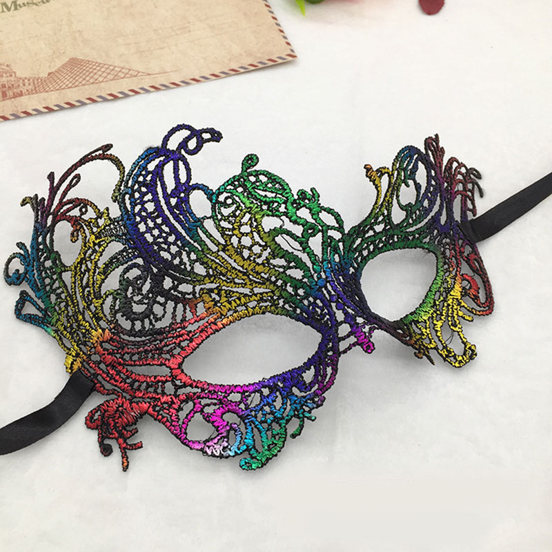 9873-Lady-Lace-Eye-Face-Mask-Masquerade-Party-Prop-Ornament-6-Color-Fashion-Z
