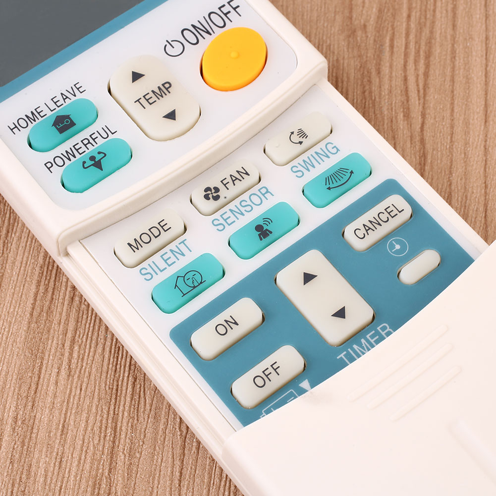 daikin air conditioner remote control manual