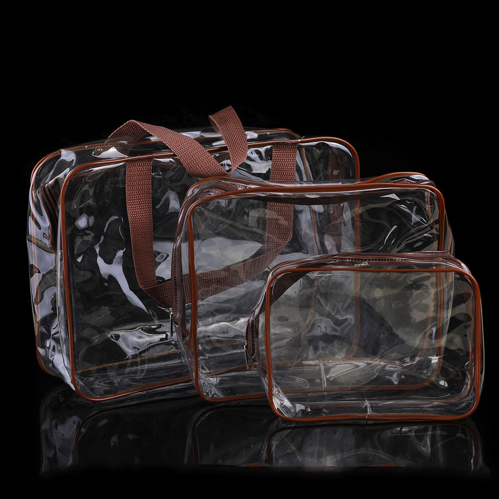 B975-3Pcs-Travel-Wash-Clear-Bag-Cosmetic-Makeup-Toiletry-PVC-Storage-Kit-Pouch