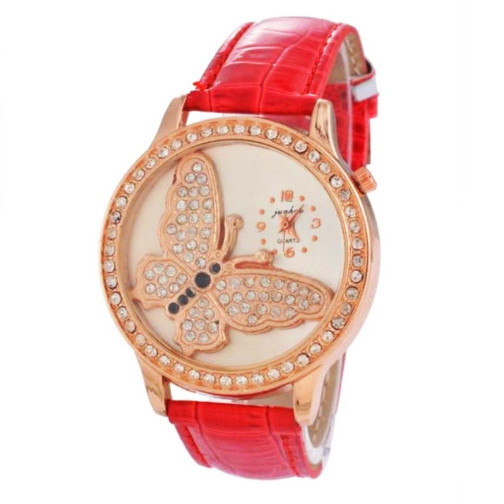 BF92-Fashion-Women-Female-Watch-Wrist-Watch-Quartz-Watch-Butterfly-Dial-Unique