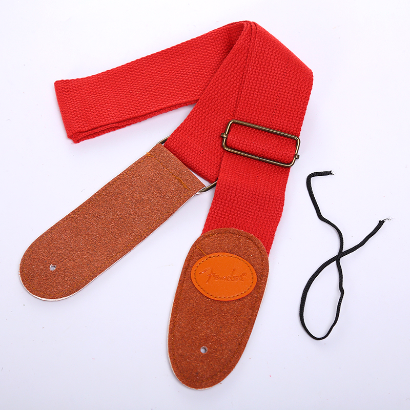 C073-Guitar-Strap-Nylon-Leather-End-Bass-Ukelele-Musical-Instrument-Colorful