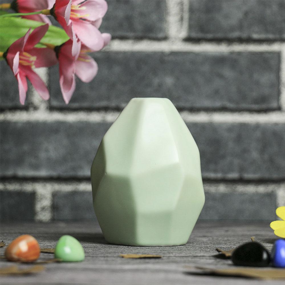 17F8-Home-Garden-Rhombus-Pattern-Ceramic-Pottery-Flower-Pot-Mini-Vase-Ornaments