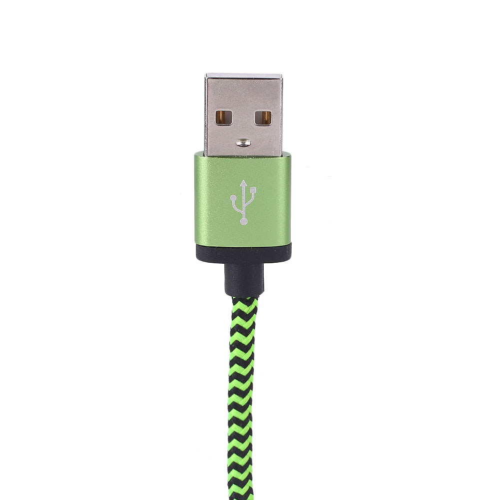D0A0-USB-C-Type-C-3-1-to-A-Nylon-Braided-Fast-Quick-Charging-Data-Cable-Cord