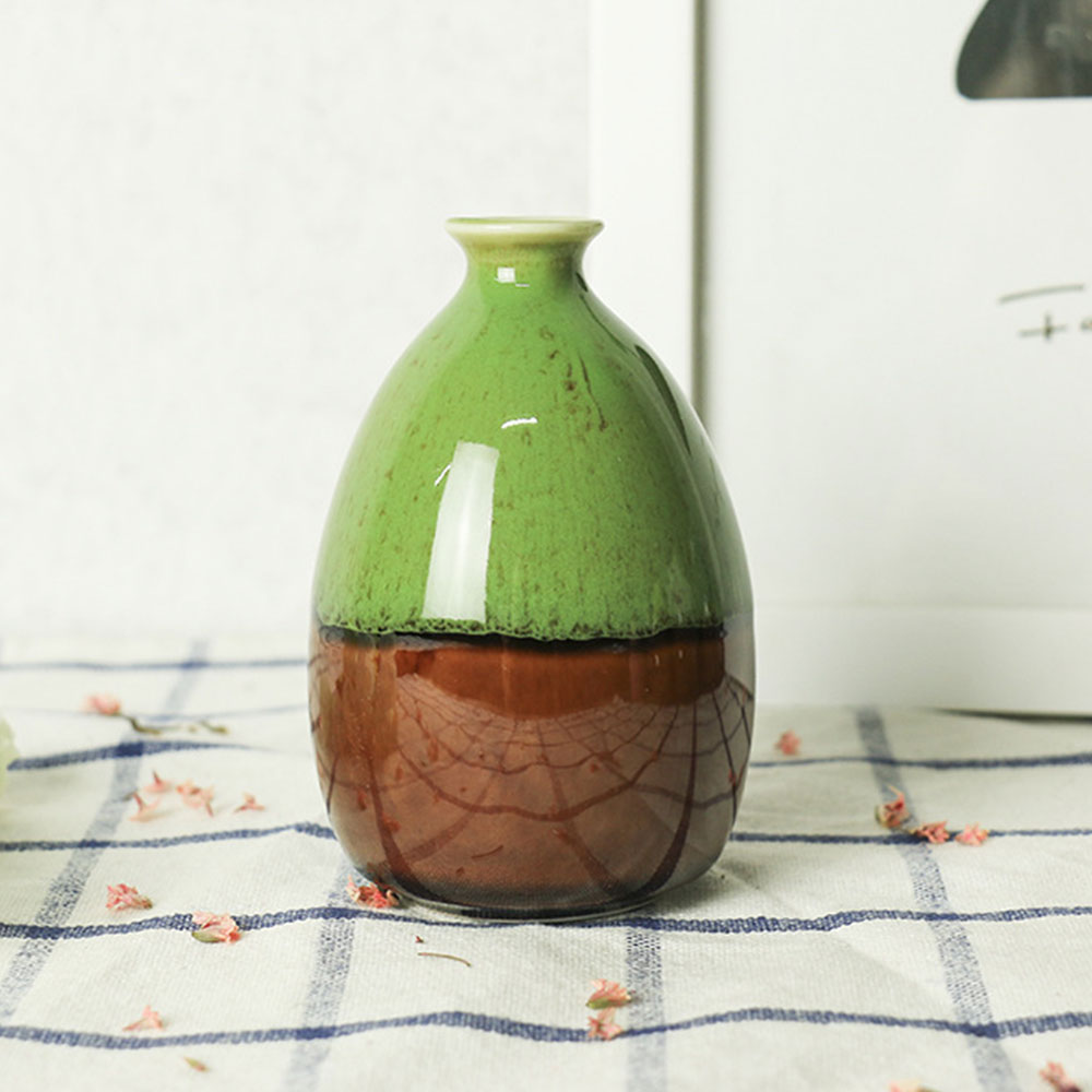 8C7D-Glaze-White-Vintage-Ceramic-Craft-Flower-Vase-Porcelain-Minimalist-Gift