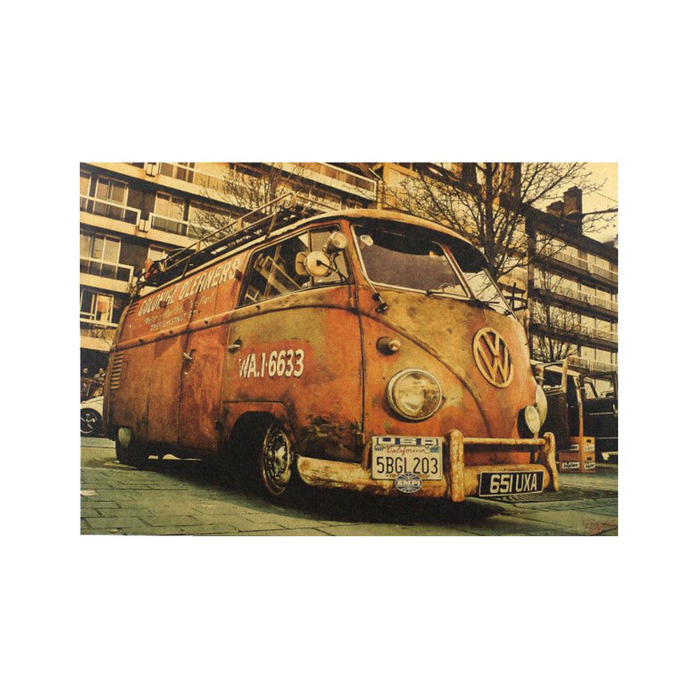 A84F-Kraft-Craft-Paper-Poster-Room-Wall-Decor-Living-Bedroom-Bar-Ornament-Art