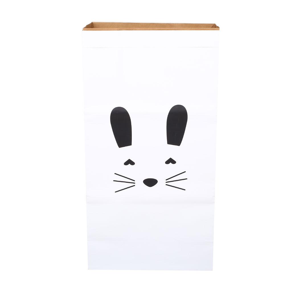 D83F-Storage-Bag-Laundry-Bag-Baby-Kids-Room-Home-Decor-Kraft-Paper-Creative
