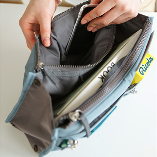 Hot Bag in Bag Smart Insert Organizer Pouch Travel Cosmetic Bag Insert Handbag