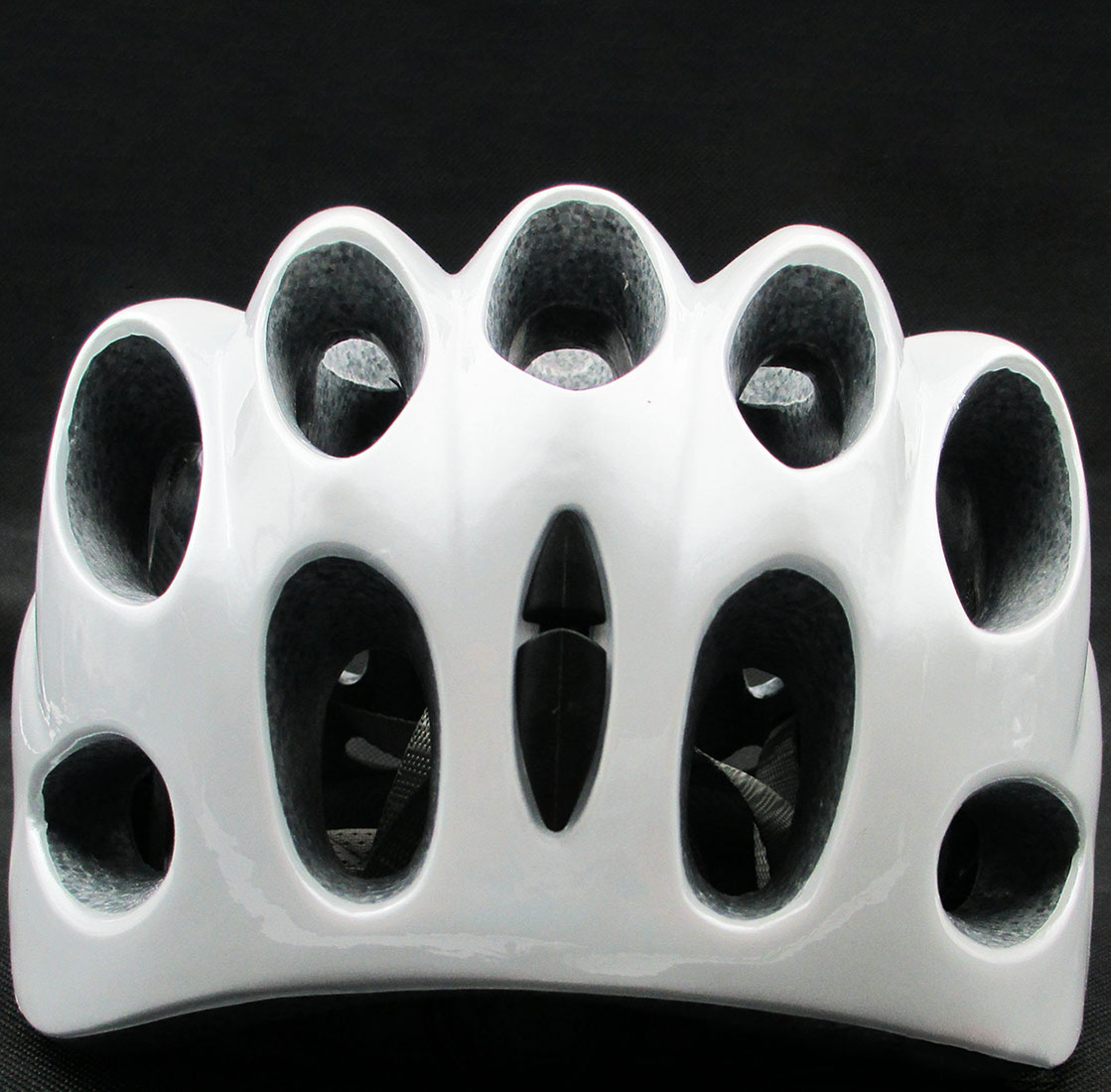 Cycling-Bicycle-mtb-road-Bike-whisper-39-Holes-Helmet-White-Visor-Safety