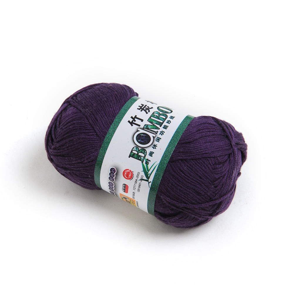 Wholesale-Soft-Natural-Bamboo-Cotton-Knitting-Yarn-Fingering-20-Colors