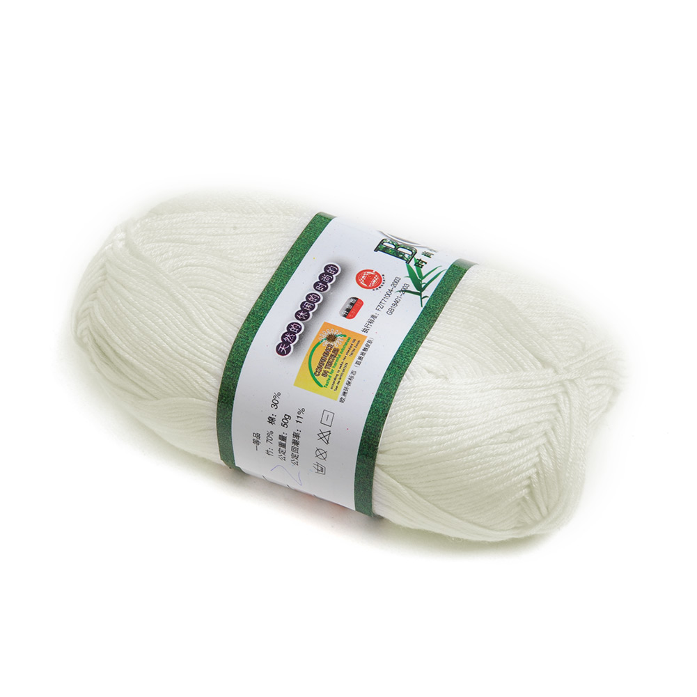 Wholesale-Soft-Smooth-Bamboo-Cotton-Knitting-Yarn-Fingering-20-Colors