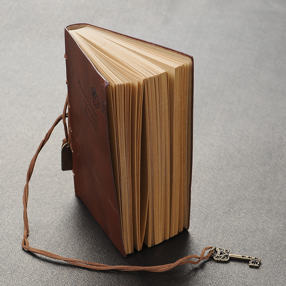 Notebook Diary String Leaf Travel Leather Paper Journal Book Sketchbook Hot CJ22