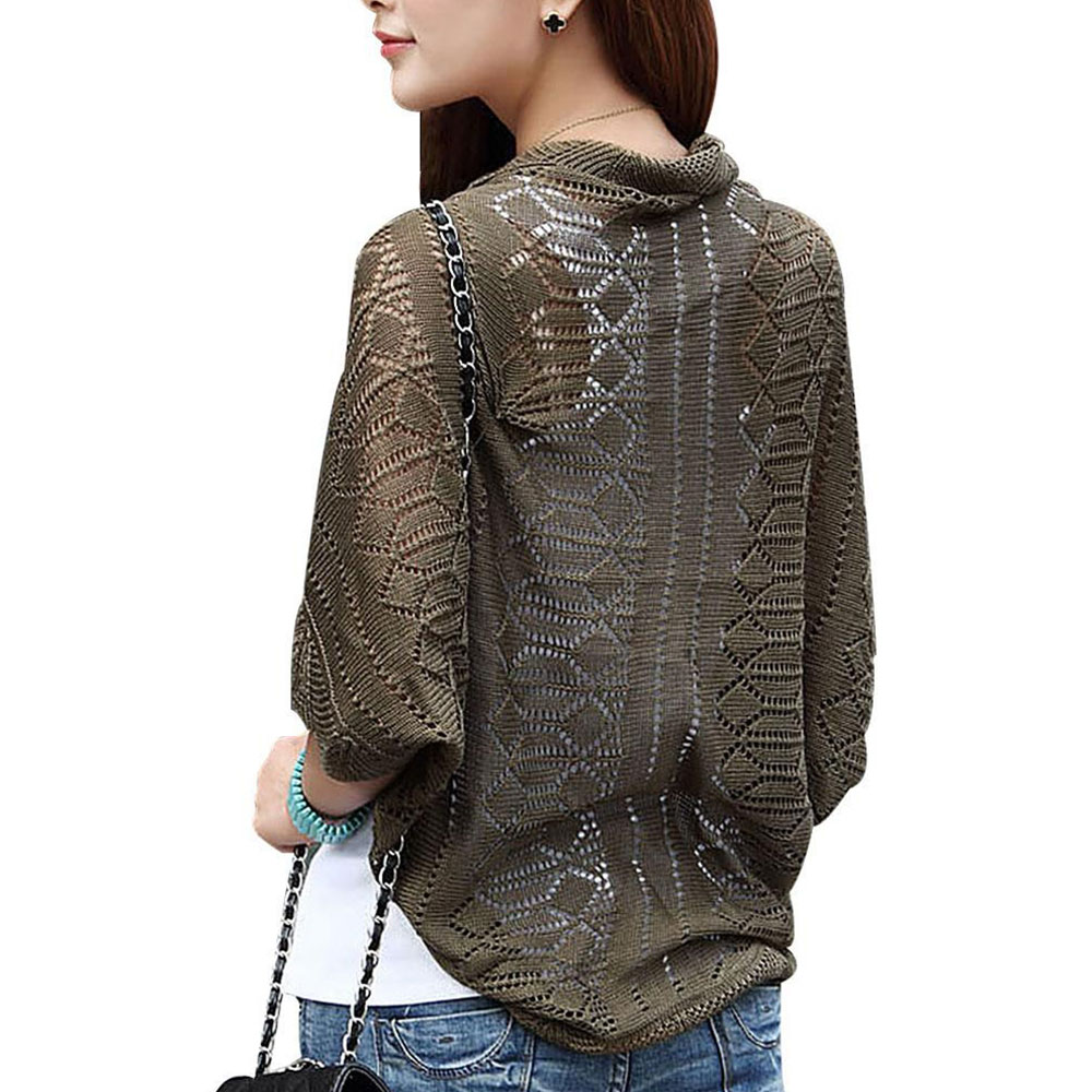 9370-Women-Ladies-Knitted-Slim-Kimono-Tops-Hollow-Cardigan-Blouse-Jacket-Shawl