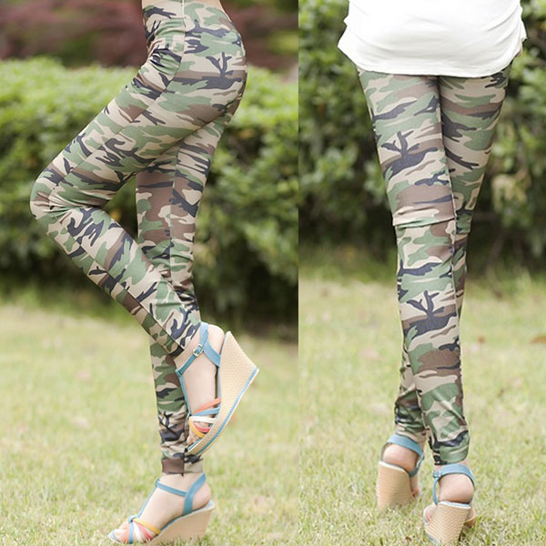 Hose military style damen
