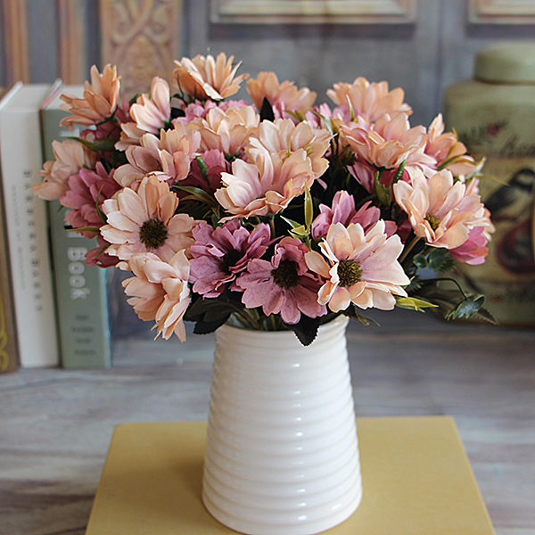 EE02-French-Rose-Bouquet-Artificial-Fake-Peony-Flower-Table-Spring-Daisy-Decor